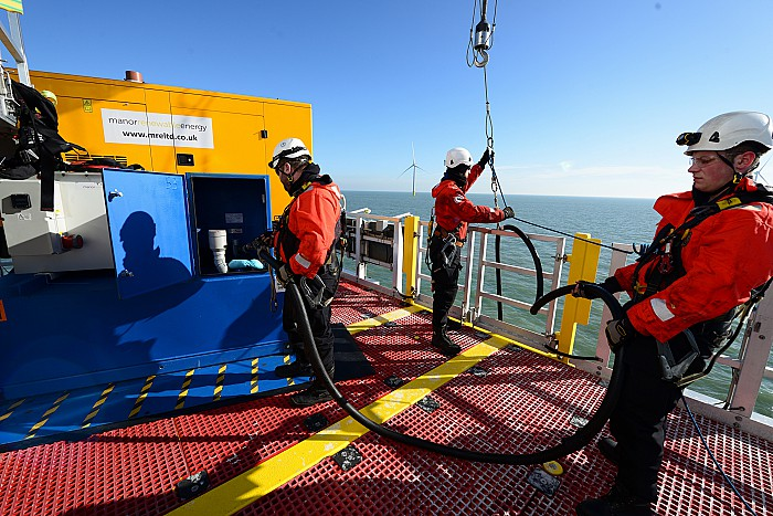 Manor to Power Arkona Offshore Wind Farm
